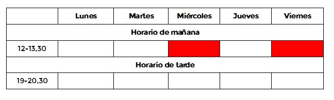 horario-advance