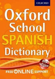 oxford school spanish dic