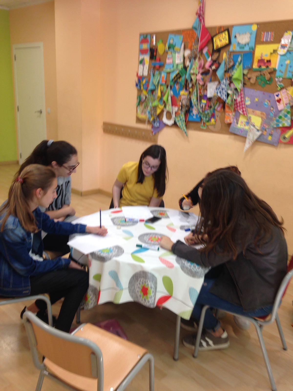 Resumen PET SPEAKING Grupo Chicas Mayo 2018 Centro Avenida Baleares