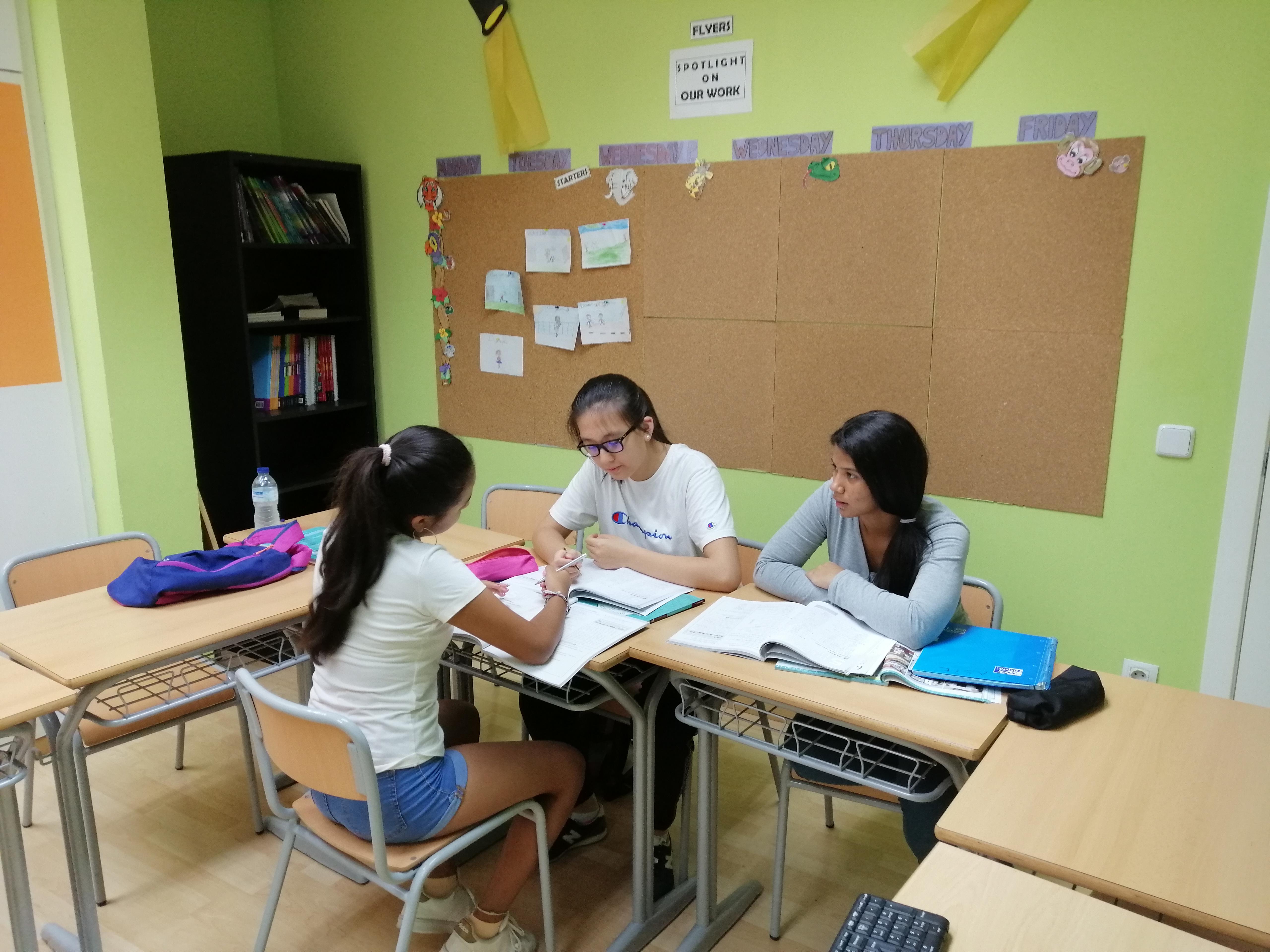 Resumen TEENS A1/A2 – Septiembre 2019 – Centro Baleares