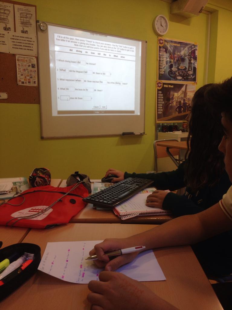 KET 2 - Mr Bean formulating questions