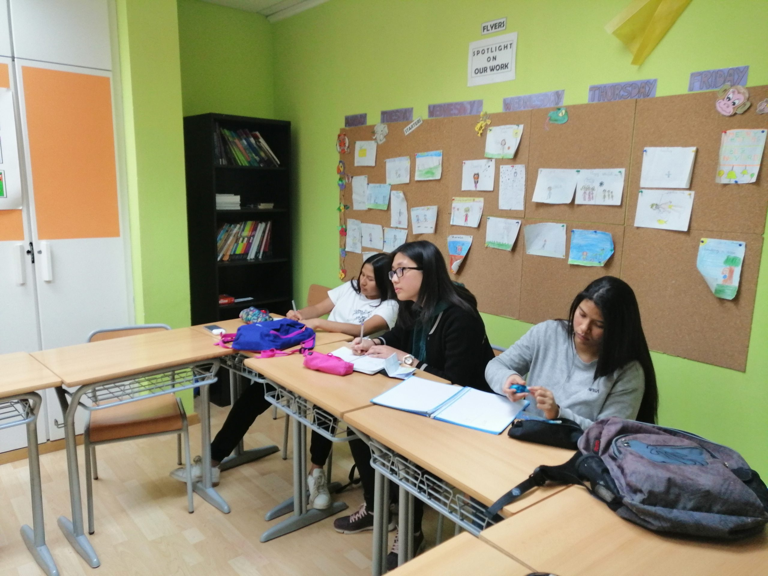 Resumen Teens A1/A2 mes de Marzo 2020 – Centro Baleares