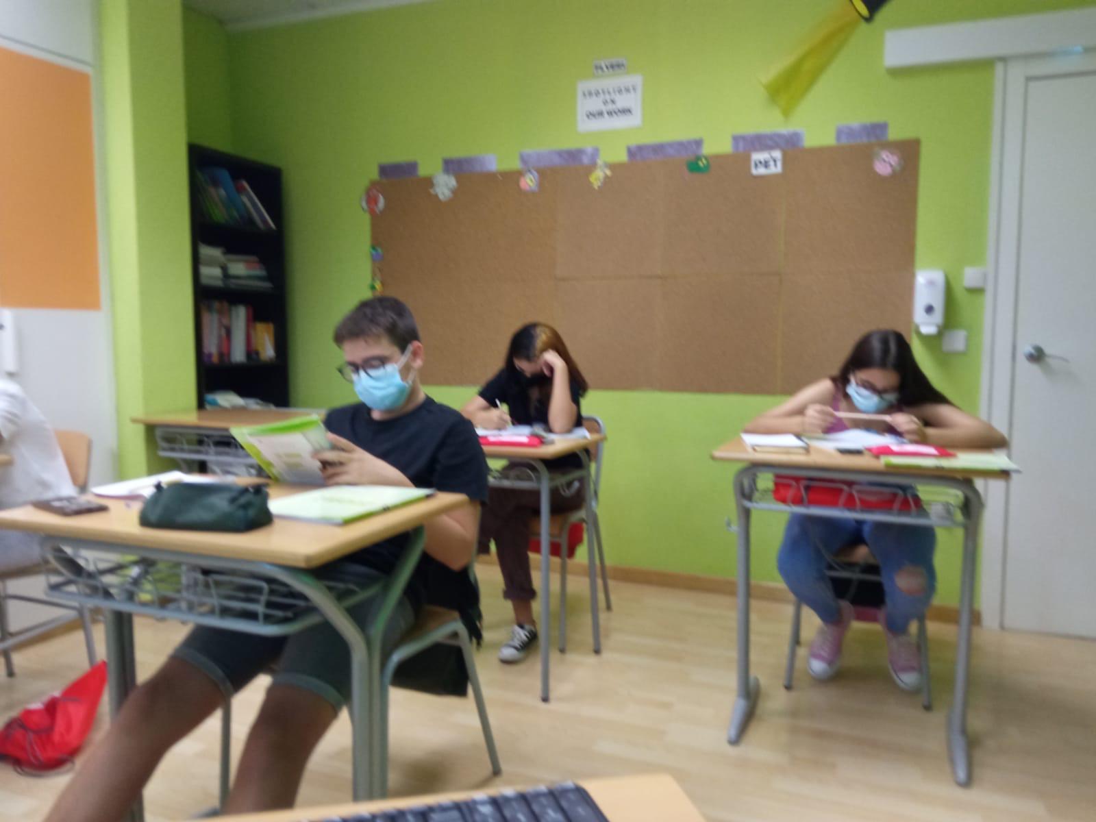 Resumen PET 1 – Mes de Septiembre 2020 – Centro Baleares